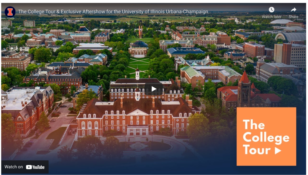 College Tour series gives prospective students a taste of campus life at U of I