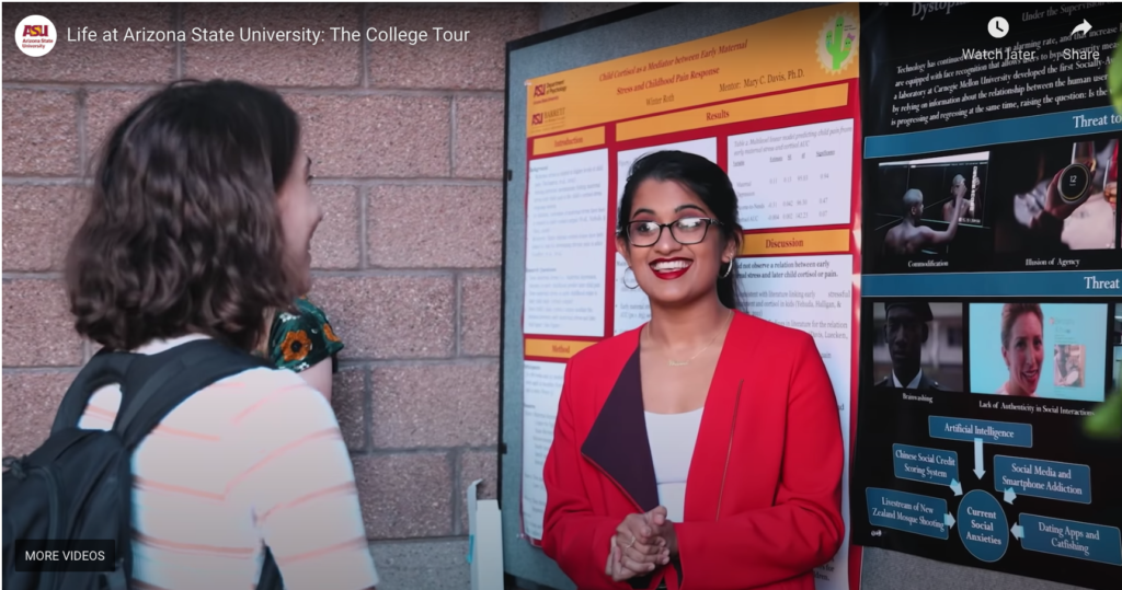 Watch ASU's episode of The College Tour. The biggest virtual campus tour you've ever seen.