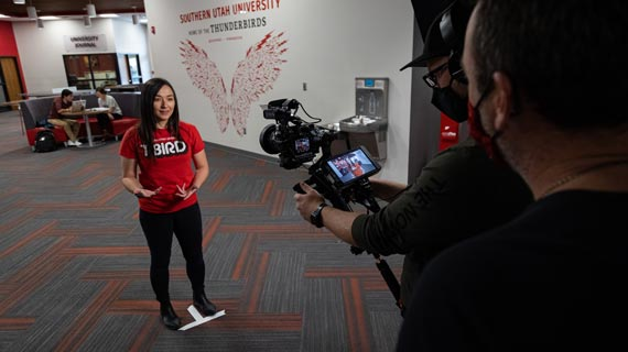 SUU First Utah University to be Featured on The College Tour