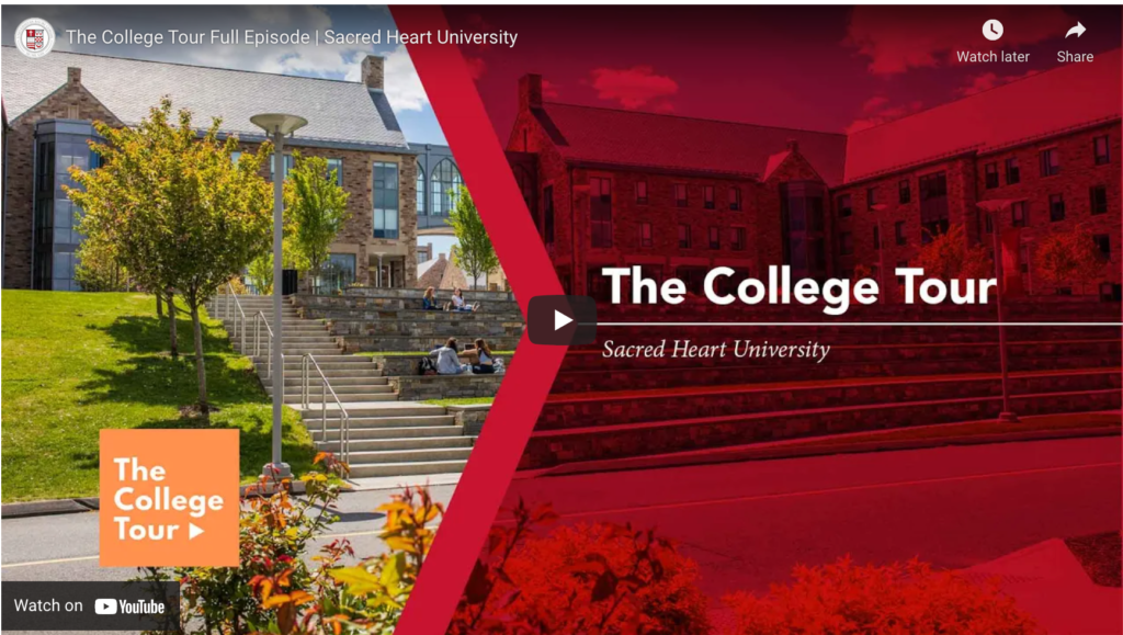 Sacred Heart University To Be Featured On Amazon Prime Series